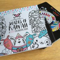 Some Shades of K-K-K-Kawaii in Miss Wah's Colouring Book